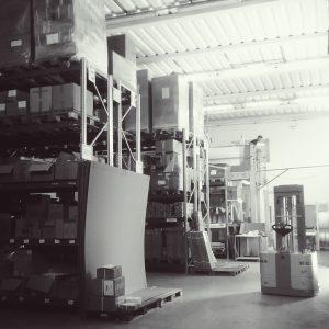 il magazzino dei prodotti finiti iWird