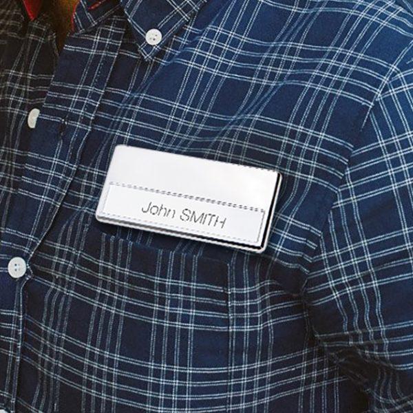badge porta nome magnetico