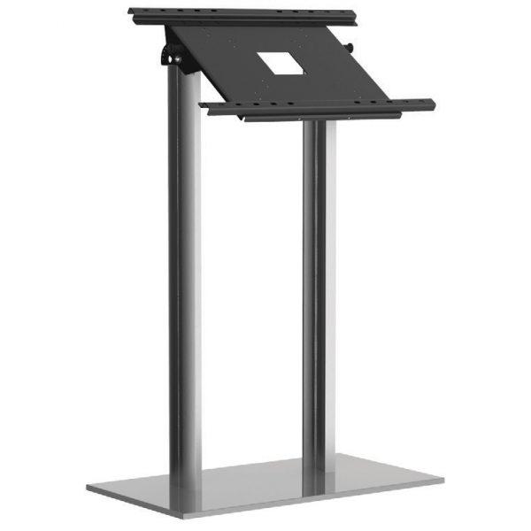 espositore porta monitor da terra con angolazione regolabile