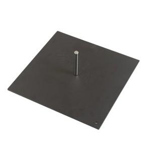 Base in metallo quadrata di. cm 30×30