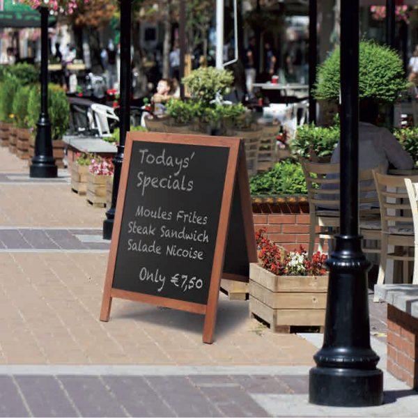 lavagna per menu ristoranti bar e locali