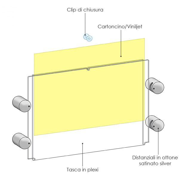 Targhe in plexiglass segnaletica