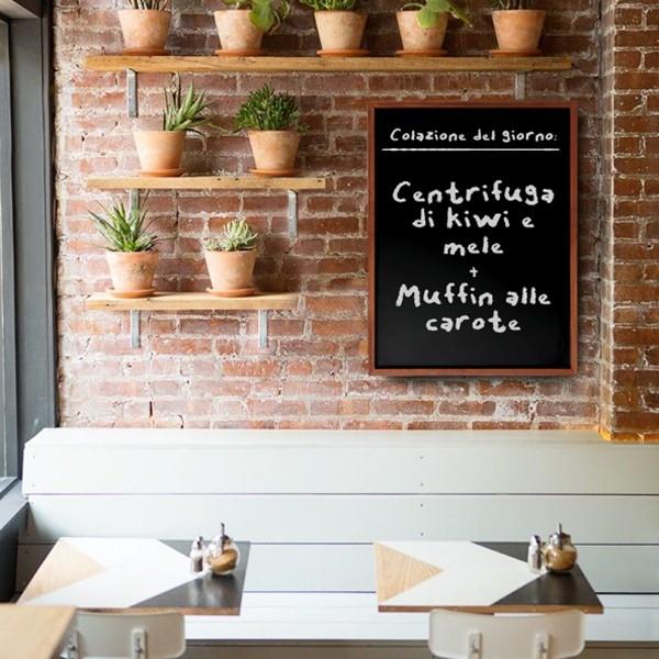 lavagna scrivibile menu ristorante