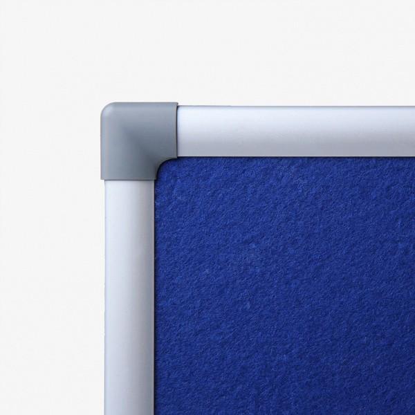 lavagne in feltro blu