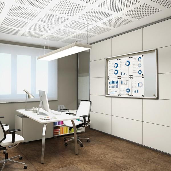 bacheca scrivibile e magnetica all'interno dell'ufficio