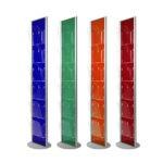 espositori colorati plexiglass trasparente