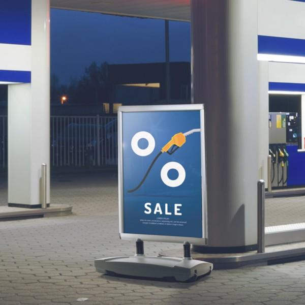 porta comunicazioni per benzinaio