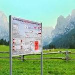 pannelli informativi per esterni 1500 x 1000 mm