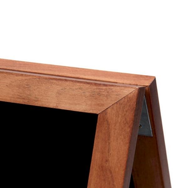 angolo lavagne a cavalletto in legno