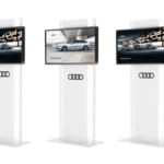porta monitor personalizzato AUDI