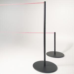 Cordone o Corda elastica? Scopri la nuova linea di colonnine MUSEUM