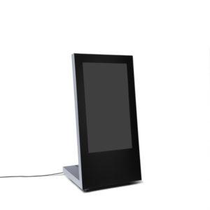 Chiosco digitale con ruote monitor da 43″