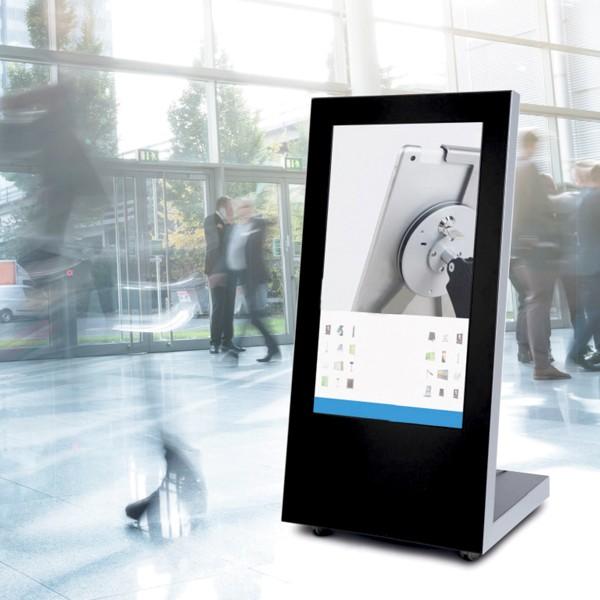 pannello multimediale per spazi pubblici
