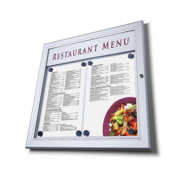 bacheca porta menu per esterni